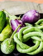 Aubergine Mixed Colours 30 Seeds,Eggplant Mixed colours&sizes,many varieties!